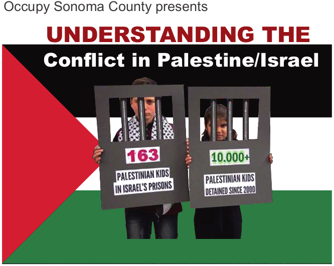 Occupy Sonoma County presents: Understanding the Conflict in Palestine/Israel