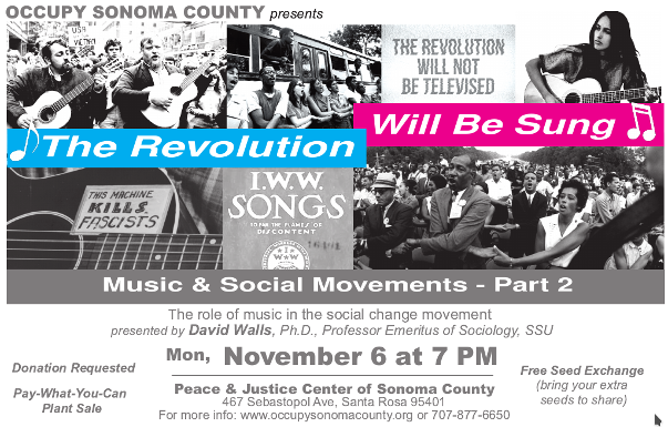 The Revolution Will Be Sung - Music & Social Change Movements - Part 2